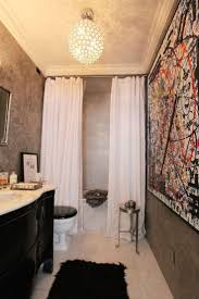 How To Make Small Bathroom Look Bigger Best 20 Tall Shower Curtains Ideas On Pinterest Blue Bathrooms