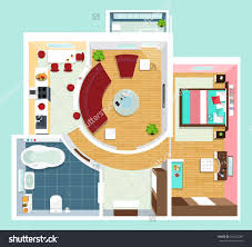floor plan furniture vector slyfelinos com for apartment with top