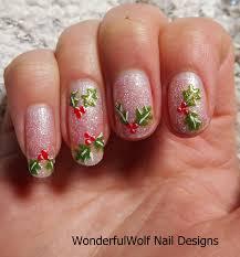 holly nail art u2013 wonderfulwolf