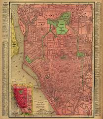 New Orleans Downtown Map by Buffaloresearch Com Historic Maps Of Buffalo Erie