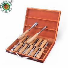 berrylion 12pcs wood carving tools set wood chisel tools for