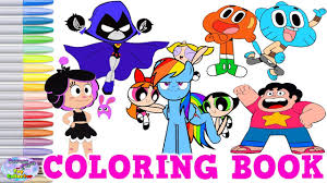 teen titans go color pages teen titans go gumball my little pony coloring book surprise egg