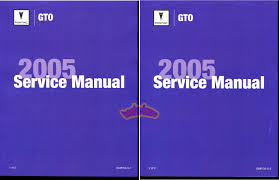 pontiac gto manuals at books4cars com