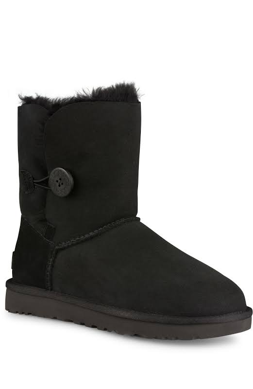 UGG Australia Bailey Button ll Black Boots 1016226-BLK