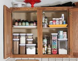 How To Organize Your Kitchen Cabinets by 5 Ways To Organize Your Baking Supplies