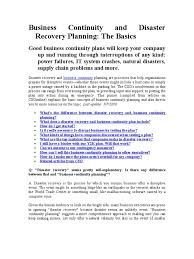 Business Continuity And Disaster Recovery Plan Template Download Evaluating Business Continuity And Disaster Recovery
