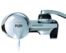 pur pfm400h chrome horizontal water filtration faucet mount with 1