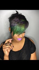 416 best relaxed hair images on pinterest short hair styles