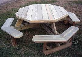 Plans For Wood Picnic Table by Cedar Creek Woodshop Bird House Porch Swing Patio Swing