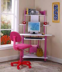 White Bedroom Desk Furniture by Bedroom Design Corner Computer Desks For Teenage Bedrooms Pink