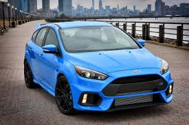 new ford focus rs full details on 345bhp 4x4 mega hatch auto