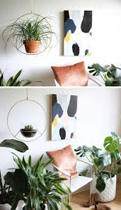Brass Home Decor by These 11 Hanging Planters Will Inspire You To Liven Up Your Home