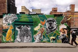 Animal mural by DjLu
