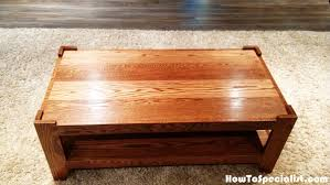 how to build a wood coffee table howtospecialist how to build