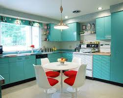 painting of turquoise kitchen cabinets for any kitchen styles