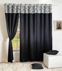 108 Inch Long Blackout Curtains by Home Decor Faux Silk Window Drape Panel Bedroom Blackout Eyelet