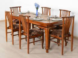Used Dining Room Furniture Teak Wood Dining Table Price In Bangalore Curves Carvings