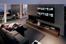 stunning home modern living room dark wood center inspo home