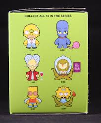 the simpsons halloween of horror simpsons treehouse of horror blind box blindboxes