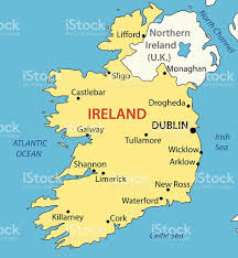Map Of Ireland And England Republic Of Ireland Vector Map Stock Vector Art 472227544 Istock