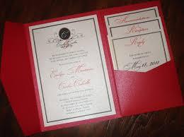 folded invitation pocket fold wedding invites vertabox com