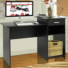 Compact Laptop Desk by Student Computer Desk Home Office Wood Laptop Table Study