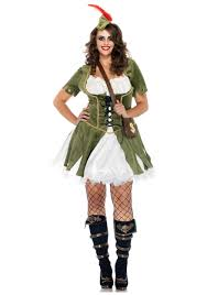 plus size lady robin hood costume halloween costumes