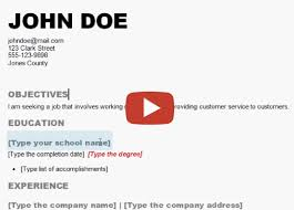 resume     How to Make a Resume yourself in Word