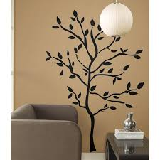 Bedroom Wall Decals Trees Roommates Rmk1317gm Tree Branches Peel U0026 Stick Wall Decals Wall