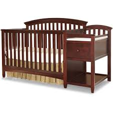Convertible Crib Changer Combo by Imagio Baby Montville 4 In 1 Fixed Side Crib And Changing Table