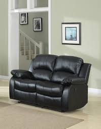 amazon com classic double reclining loveseat bonded leather