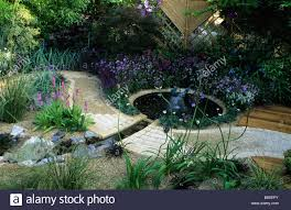 feng shui garden london design pamela woods cool colour area