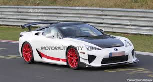 new lexus supercar 2016 another wild lexus lfa prototype spied at the nürburgring