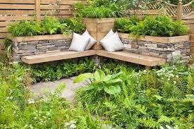 garten sitzecke gestalten ideen für kleine u0026 große gärten
