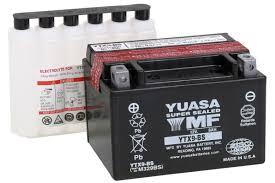 yuasa agm maintenance free battery for gsxr600 97 13