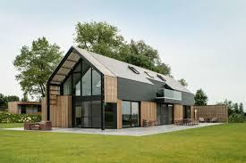 Contemporary Style House Plans Old Belgian Barn Is Transformed Into A Gorgeous Contemporary Home