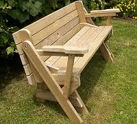 Building Plans For Picnic Table Bench by Www Buildeazy Com Folding Instructions 1 Html Compact Version