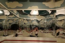 the trippy bathroom mirror at redhooklobster pound u2013 normalblog
