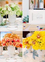 Rainbow Wedding Centerpieces by Nana U0027s Blog For This Homemade Wedding Centerpiece Craft You Will