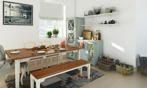 Country Style Dining Room How To Style Your Dining Room With Benches
