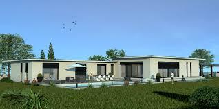 Veranda Plan De Campagne Modèle Eco Concept Maison Moderne à étage De 100m2 Avec Piscine
