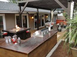 outdoor kitchens and bars hgtv