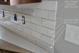 kitchen chronicles a diy subway tile backsplash part 1 jenna
