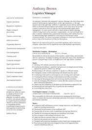 Driver CV Examples happytom co