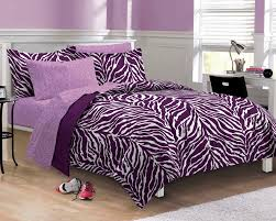 Girls Bedding Full by Purple Zebra Bedding Twin Xl Full Queen Teen Bed In A Bag