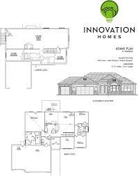 Garage Depth Adams Plan 3378 Sqft U2013 Innovation Homes