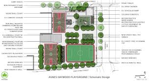 agnes haywood park basketball court reconstruction nyc parks