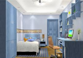 Navy Blue Wall Bedroom Light Blue Walls And Furniture Bedroom 3d House