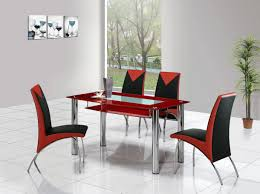 Red And Black Kitchen Ideas Download Red Upholstered Dining Room Chairs Gen4congress Com