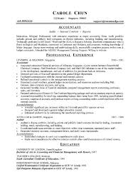 Tax Accountant Sample Resume by Accountant Resume Format For Experienced Accountant Best Resume